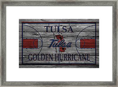 Tulsa Golden Hurricane Framed Print by Joe Hamilton