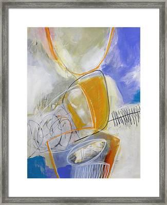 Tumble Down 3 Framed Print by Jane Davies