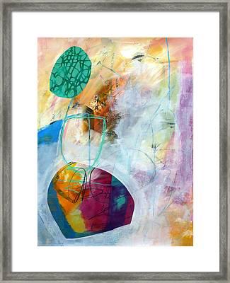 Tumble Down 5 Framed Print by Jane Davies