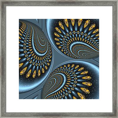 Tumble Framed Print by Wendy J St Christopher