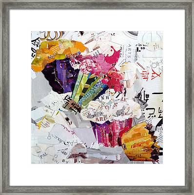 Tumbling Cupcakes Framed Print by Suzy Pal Powell
