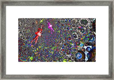 Tunnel Dance Framed Print by Jason Saunders