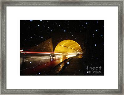 Tunnel Framed Print by Jonathan Welch
