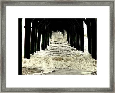 Tunnel Vision Framed Print by Karen Wiles
