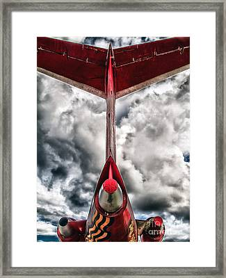 Tupolev Tu-154  Framed Print by Stelios Kleanthous