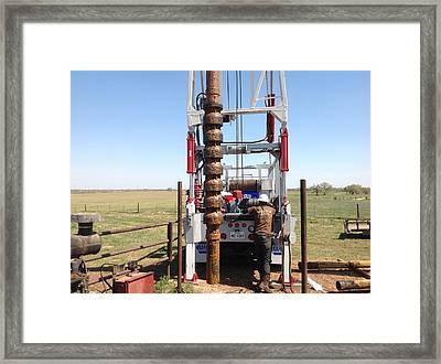 Turbine Pump Framed Print by Shawn Marlow