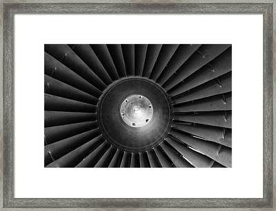 Turbo Framed Print by Christi Kraft