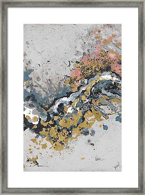 Turbulence Vertical Framed Print by Patricia Pinto