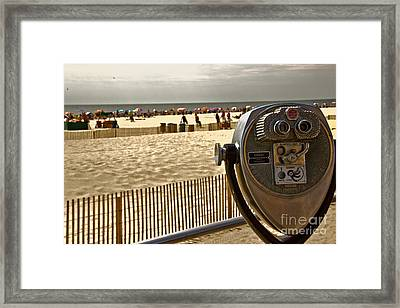 Turn To Clear Ocnj Framed Print by Tom Gari Gallery-Three-Photography