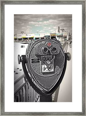 Turn To Clear The Boardwalk Framed Print by Tom Gari Gallery-Three-Photography