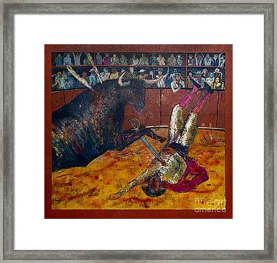 Turnabout Is Fair Play Framed Print by Al Bourassa