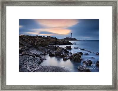 Turnberry Lighthouse Framed Print by Rod McLean