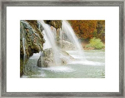 Turner Falls #2 Framed Print by Betty LaRue