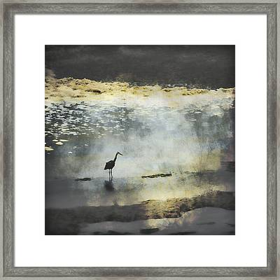 Turning Of The Tide Framed Print by Carol Leigh
