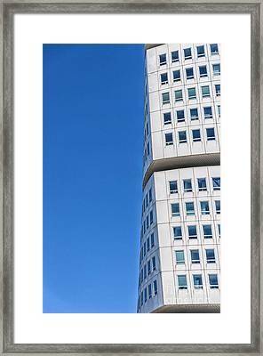 Turning Torso Skyscraper Framed Print by Antony McAulay