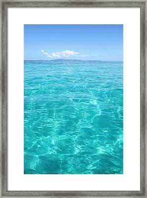 Turquoise Sea Framed Print by Svetlana Rudakovskaya