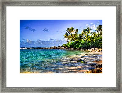 Turtle Beach Framed Print by Kelly Wade
