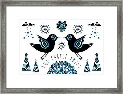 Turtle Dove Framed Print by Susan Claire