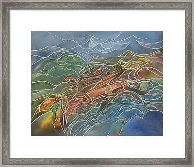 Turtles Framed Print by Johanna Axelrod
