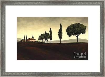 Tuscan Style  Framed Print by Michael Swanson