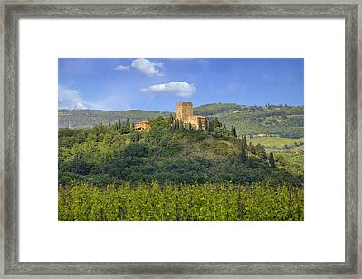 Tuscany - Arigiano Framed Print by Joana Kruse