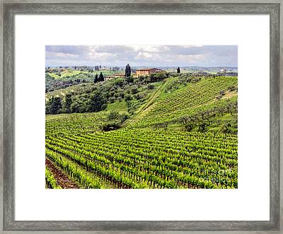 Tuscany-italy Framed Print by Jennie Breeze