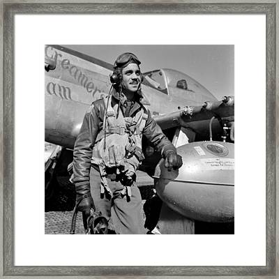 Tuskegee Airman Framed Print by Benjamin Yeager