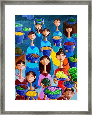 Tutti Frutti Framed Print by Paul Hilario