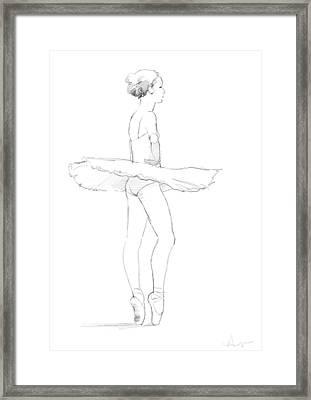 Tutu Framed Print by H James Hoff