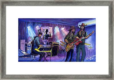 Twiddle Framed Print by David Sockrider