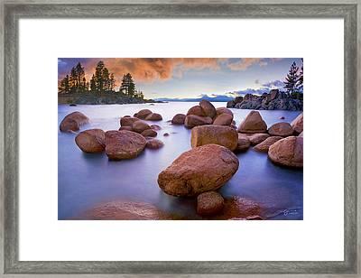 Twilight Cove - Craigbill.com - Open Edition Framed Print by Craig Bill