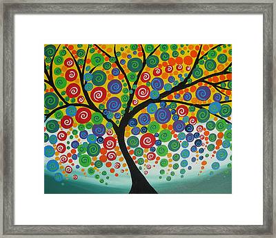 Twilight Joy Framed Print by Cathy Jacobs