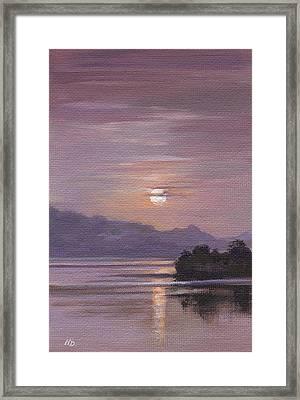 Twilight Framed Print by Natasha Denger