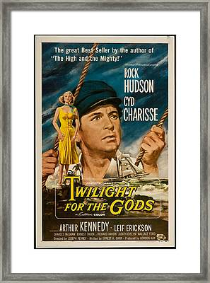 Twilight Of The Gods 1958 Framed Print by Mountain Dreams
