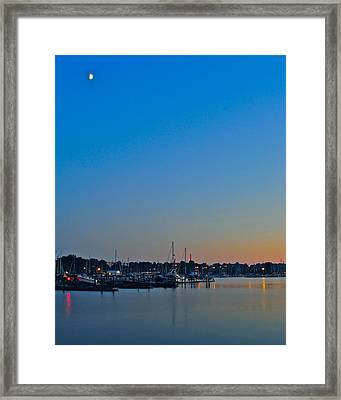 Twilight Framed Print by Frozen in Time Fine Art Photography