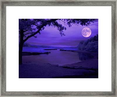 Twilight Zone Framed Print by Robert McCubbin