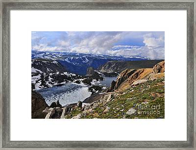Twin Lakes Framed Print by Gary Beeler