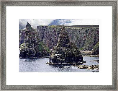 Twin Peaks Framed Print by Roger Wedegis