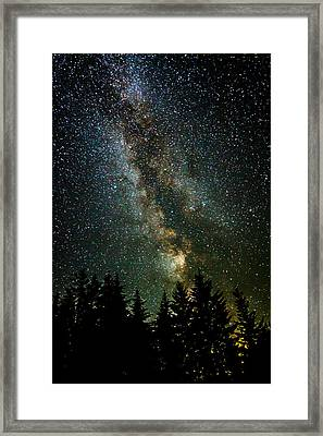 Twinkle Twinkle A Million Stars D1951 Framed Print by Wes and Dotty Weber