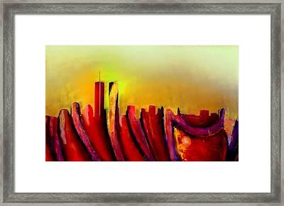 Twins - Marcello Cicchini Framed Print by Marcello Cicchini