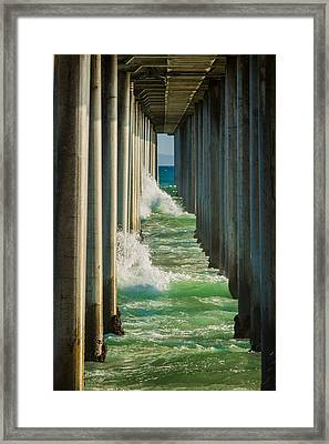 Twins Framed Print by Scott Campbell