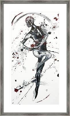 Twist Framed Print by Penny Warden