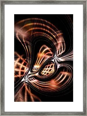Twisted Framed Print by Anastasiya Malakhova
