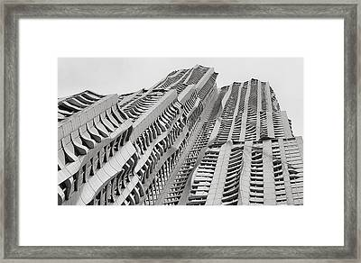 Twisted Framed Print by JC Findley