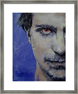 Twisted Framed Print by Michael Creese