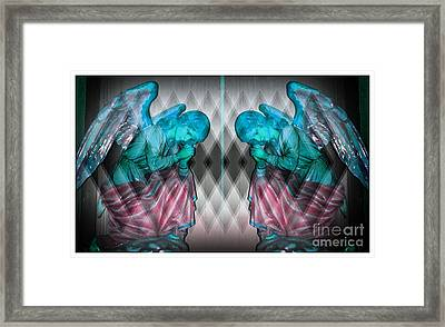 Two Angels Framed Print by Kathleen Struckle