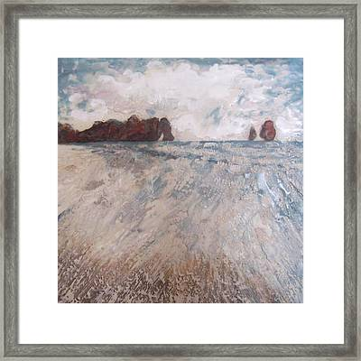 Two Apostles Framed Print by Victoria Primicias