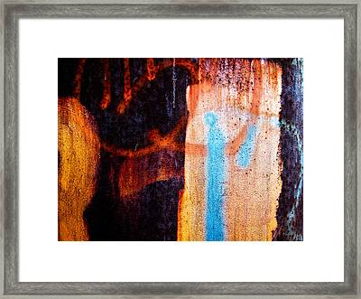 Two As One Framed Print by Bob Orsillo