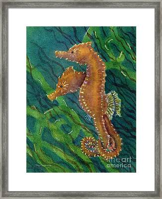 Two By Sea Framed Print by Amy Kirkpatrick