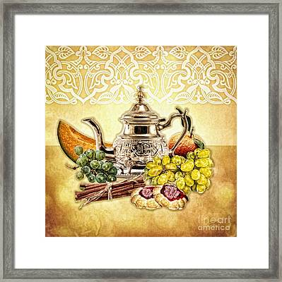 Two Cookies Framed Print by Mo T